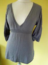 Marc O'Polo Damen Strick Pulli Pullover Gr.M  grau Kaschmir Bluse Shirt