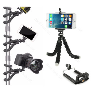 For Android Google Mobile Phone Camera Tripod Gorilla Octopus Mount Stand Holder
