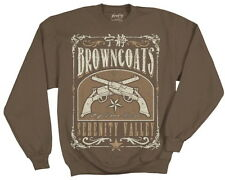 Serenity / Firefly Browncoats Serenity Valley SweatShirt Size Large New Unworn