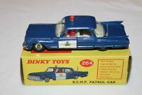 Dinky Toys 264 R.C.M.P. Cadillac Patrol Car SCARCE