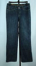 Christopher Blue Jagger Size 4 Medium Rise Jeans Wide Leg Trouser Flap Pocket