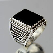 Onyx Sterling Silver Jewellery for Men
