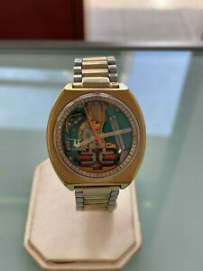 Vintage Bulova Accutron Spaceview Gold Filled