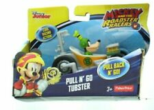 Fisher Price Disney Junior Mickey and the Roadster Racers Pull N Go Cars 3+