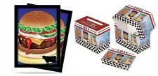 Ultra Pro Burger Sleeves 100ct. & Diner Deck Box