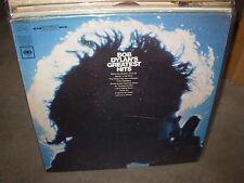 BOB DYLAN greatest hits ( folk ) reissue - POSTER -