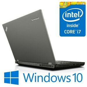 "Lenovo ThinkPad W540 i7 4800MQ 16G 240G SSD Modem 15.6"" FHD Quadro Win 10 Pro"