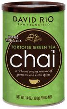 David Rio Tortoise Green Tea Chai 398g in der Dose mit grünem Tee