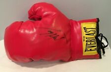 Autographed Signed Everlast Boxing Glove Larry Holmes Rare On Old Glove