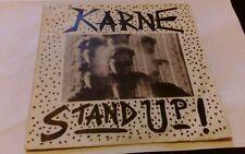 Geoff karne, stand up, rare indi 7 inch single 1987, Gk 100