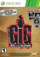 Power Gig: Rise of the SixString Microsoft Xbox 360 Guitar Rock Music Video Game