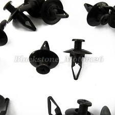 50 Front & Rear Bumper Push-Type Retainer Nylon Clip Replaces 01553-03201 A20753