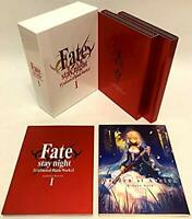 Fate/stay night Unlimited Blade Works Blu-ray Box 1 Limited Engish Sub USED