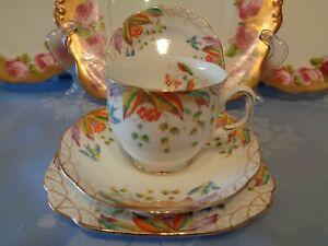 Royal Albert Crown China Trio **Virginia** Plus Extra Small Plate.  English