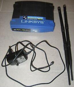 Linksys WRT54GL 54 Mbps 4-Port 100 Mbps Funk Router (WRT54GL-DE), OpenWRT, +2,5W