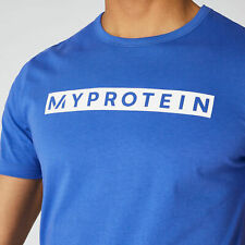 Men's essential Myprotein tee 'The Original T-Shirt' - Ultra Blue Size L Large