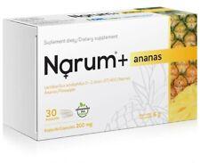 Narum + Pineapple 200mg, Lactobacillus Acidophilus, 30 capsules