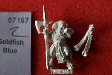 Games Workshop Warhammer Beastmen Bestigor Musician Horn Metal Beastman Gors A1