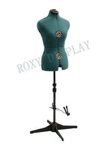DE-LIANG Half Scale Male Dress Form(NOT Adult Full Size )1:2 Half Body Tailor Men Trouser Sewing Dressmaker 47cm Height Fabric Torso Suit Mannequin Form for School Design Practice