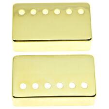 KAISH 2pcs Humbucker Guitar Pickup Covers 49.2/52mm Pole Spacing Fits Gibson