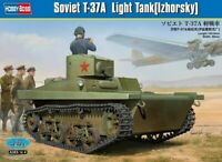 Hobbyboss 1:35 scale model kit - Soviet T-37 B Amphibious Light Tank  HBB83821