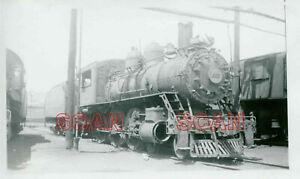 1C007 RP 1948 BALTIMORE & OHIO RAILROAD 4-6-0 LOCO #1353 PARKERSBURG WV CYLINDER