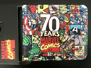 MARVEL Comics Superhero Wallet Purse Mens Kids Movie Cartoon Anime Hulk Thor AUS