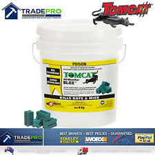 TOMCAT Ultra All Weather Blox 784g Rat Bait Mouse Trap Poison Rodent Killer