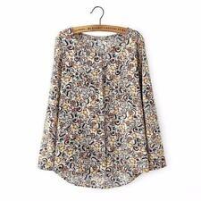 Camisa de mujer de manga larga color principal multicolor