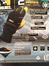 Mike Holmes Workwear Goatskin Workman's Gloves - 2 pairs-M