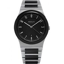 BERING Uhr flache Herrenuhr 32235-747 Safirglas Ceramic ultra slim design watch
