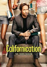CALIFORNICATION COMPLETE THIRD SEASON SERIES 3 DVD 2 DISC BOXSET DAVID DUCHOVNY!