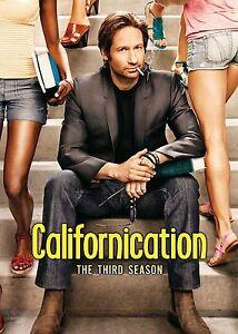 CALIFORNICATION COMPLETE THIRD SEASON SERIES 3 DVD 2 DISC BOXSET DAVID DUCHOVNY!