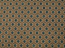 "Chenille Upholstery marina Honeycomb Drapery home fabric by the yard 57"" Wide"