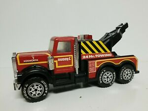 Vintage KENWORTH TOW TRUCK 1981 Buddy L. Corp.