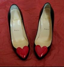 New Authentic Christian Louboutin Doracora Heart Pumps Heels Shoes 36 / 6