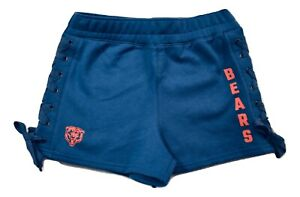 Junk Food Womens NFL Chicago Bears Lace-Up Side Shorts New XS-2XL