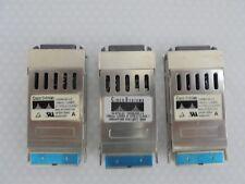 3x CISCO WS-G5486 1000 Base-LX GBIC Ricetrasmittente Modulo Gigabit