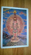 "Vintage Advertisement Postcard "" RARE SHIVA PICTURE""  ,, Made in USA?"