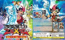 ANIME DVD~Yu-Gi-Oh!Zexal Season 1+2(1-147End)Eng sub FREE SHIPPING+FREE GIFT