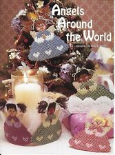 **ANGELS AROUND THE WORLD** --PATTERN ONLY**PLASTIC CANVAS PATTERN**
