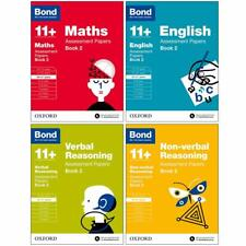 Bond 11 Assessment Papers Book 2 English Maths Verbal for Age 10-11 Years