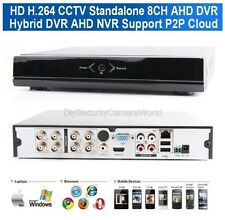 8Ch AHD-M DVR /1080P NVR Video Recorder H.264 Security CCTV DVR -Hybrid Mode