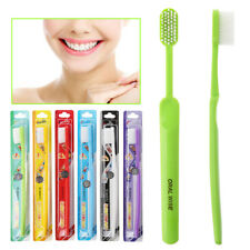 1pc Super hard bristles Tooth brush for Men Remove Smoke Blots color random