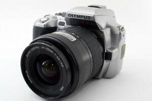 Olympus EVOLT E-500 8.0MP 14-45mm Lens Kit Silver [Exc w/Strap Japan [201]