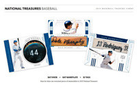 2019 NATIONAL TREASURES BASEBALL LIVE RANDOM PLAYER 1 BOX BREAK #1