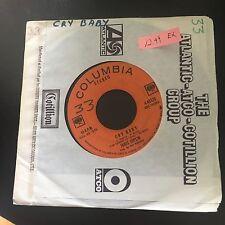 CRY BABY,   JANIS JOPLIN 45 RPM 7 vinyl