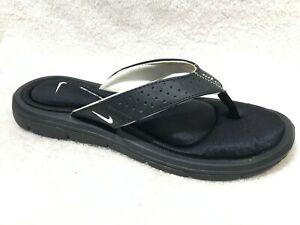 Nike Women Comfort Footbed Flip Flop Sandals Black, 8 / 39 ~ EUC