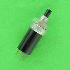 NEW SPDT Momentary Mini Push Button Switch, Black Button, Small Body Low Voltage