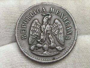 Better Grade 1896 Mo Mexico UN Centavos.  #14